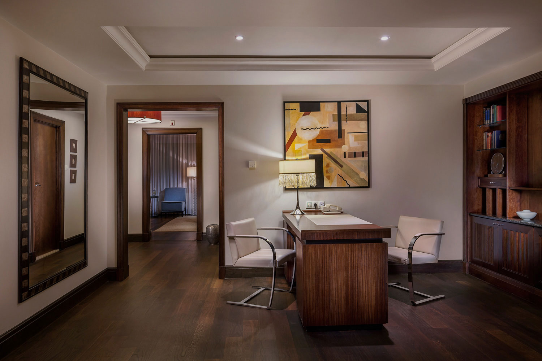 Prezidentsky apartman v hotelu Alcron-interierovy fotograf Roman Mlejnek