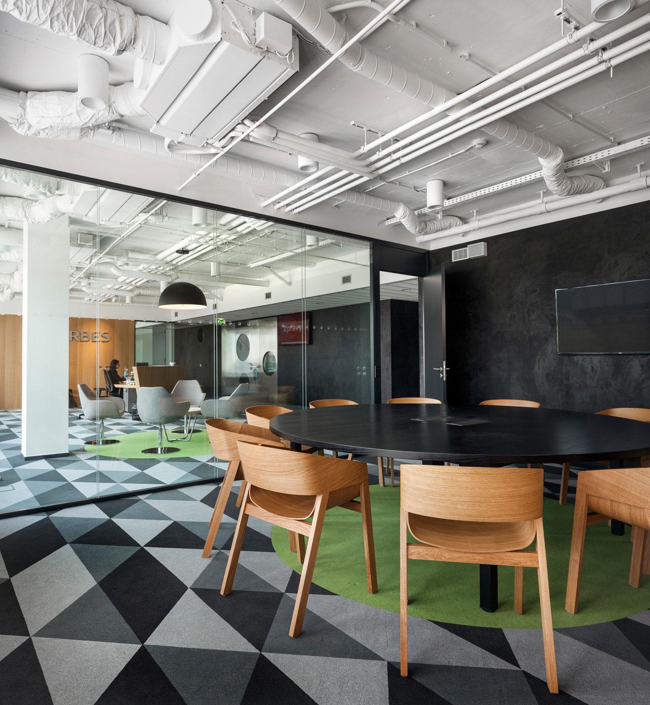 Architektonicka fotografie kancelari Arbes od architektu Labor 13, foto Roman Mlejnek