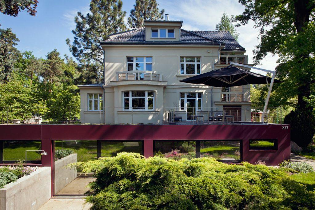 Interiery a exteriery vily v Klanovicich, fotograf architektury Roman Mlejnek
