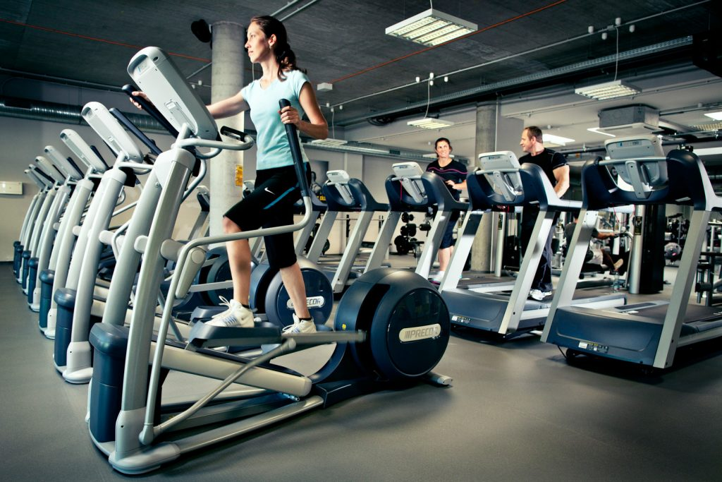 Reklamni fotografie fitness Factory Pro od fotografa Roman Mlejnka