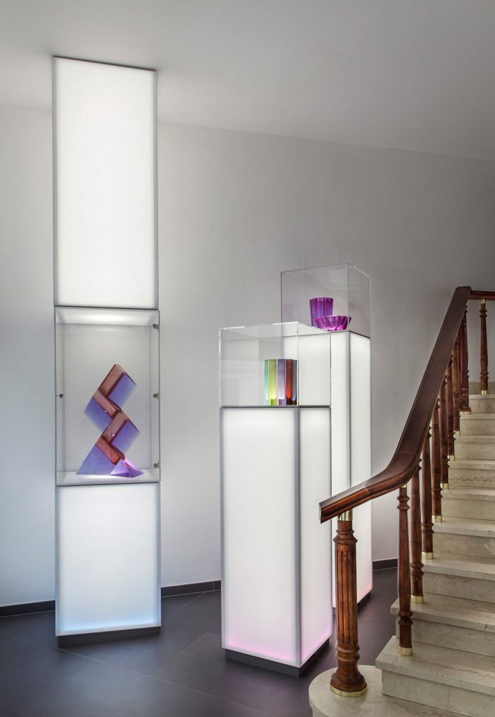 Interiery obchodu Moser od firmy Barrisol, fotograf Roman Mlejnek
