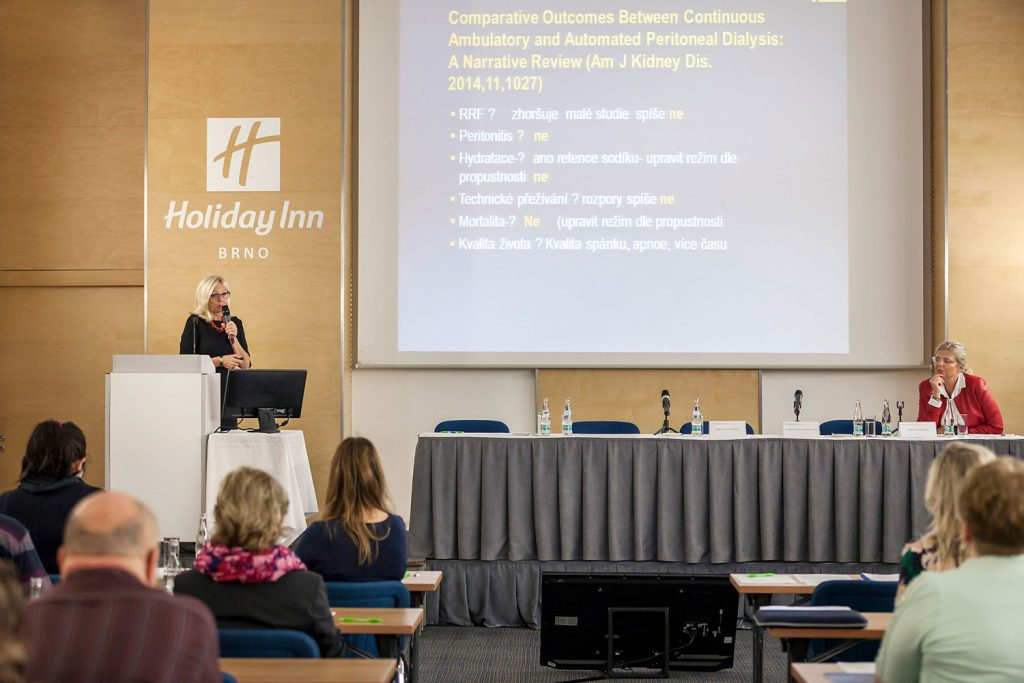 Reportazni fotografie ze symposia Fresenius Medical Care, fotograf Roman Mlejnek