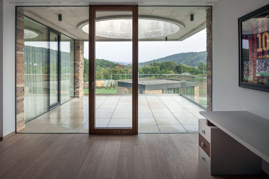 balkonove dvere vily