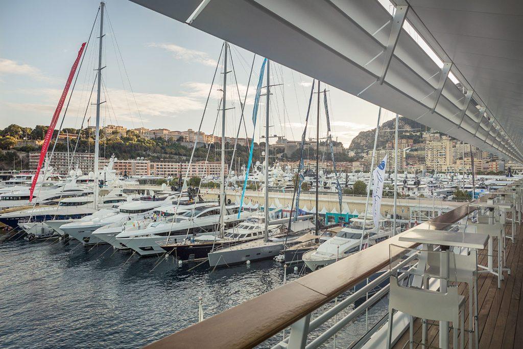 Pristav Port Hercule v Monte Carlo.