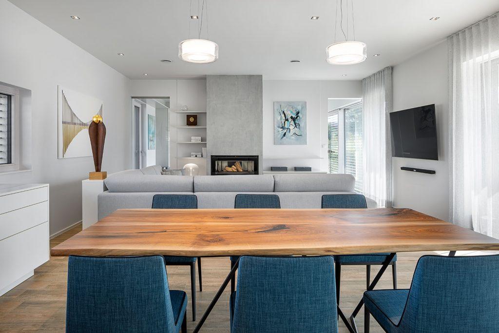 Moderni obyvaci pokoj s vkusnym designem