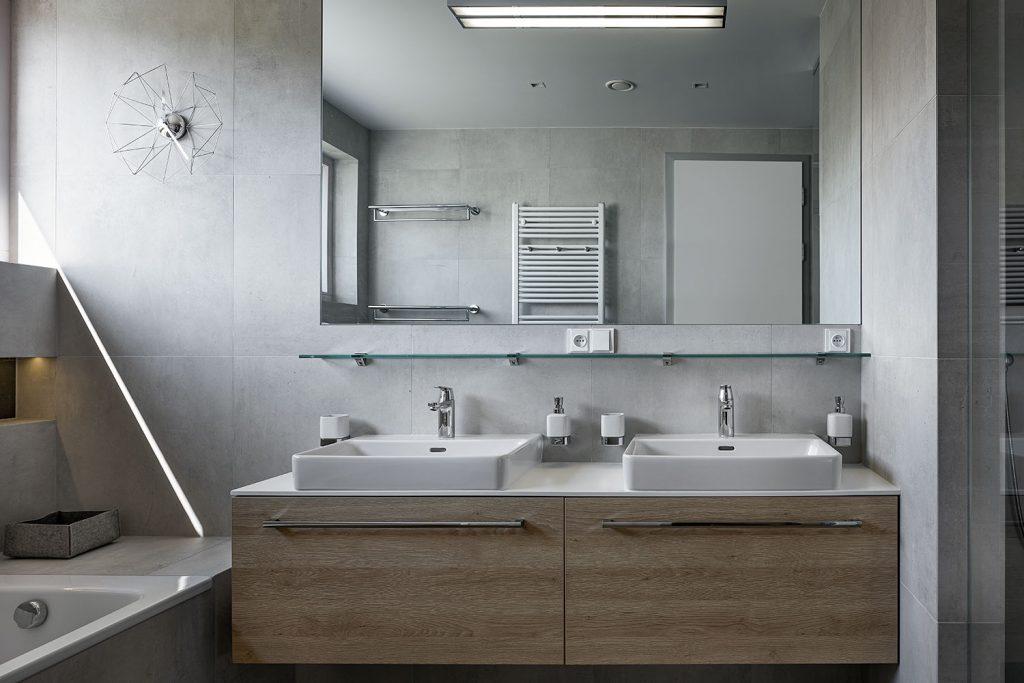 Design koupelny v rodinnem dome