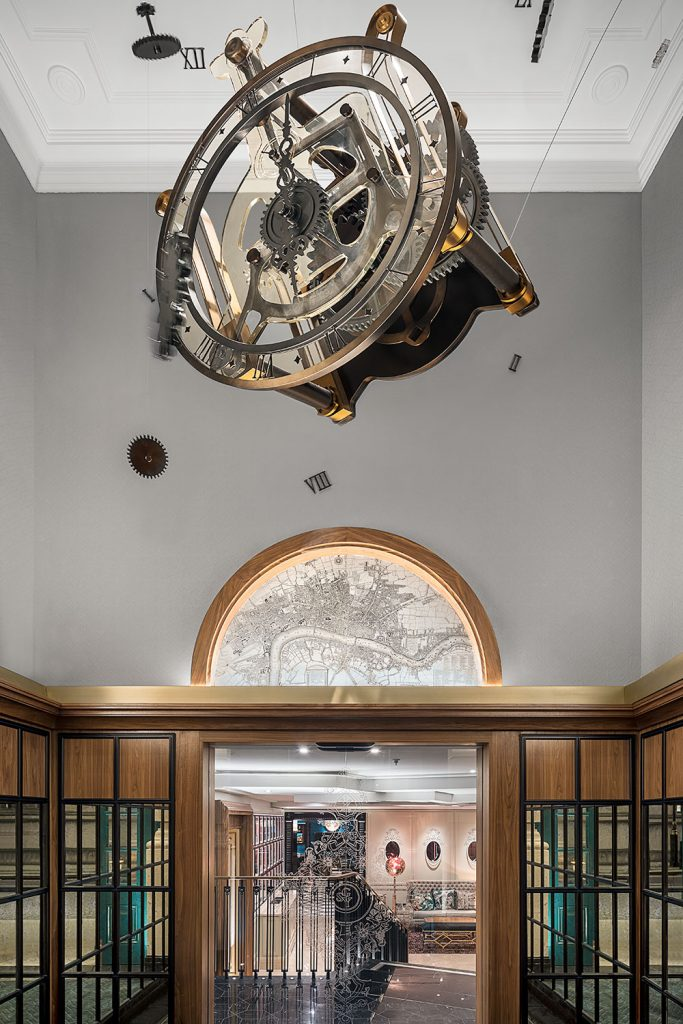Preciosa Lighting design v londynskem hotelu Scotland Yard