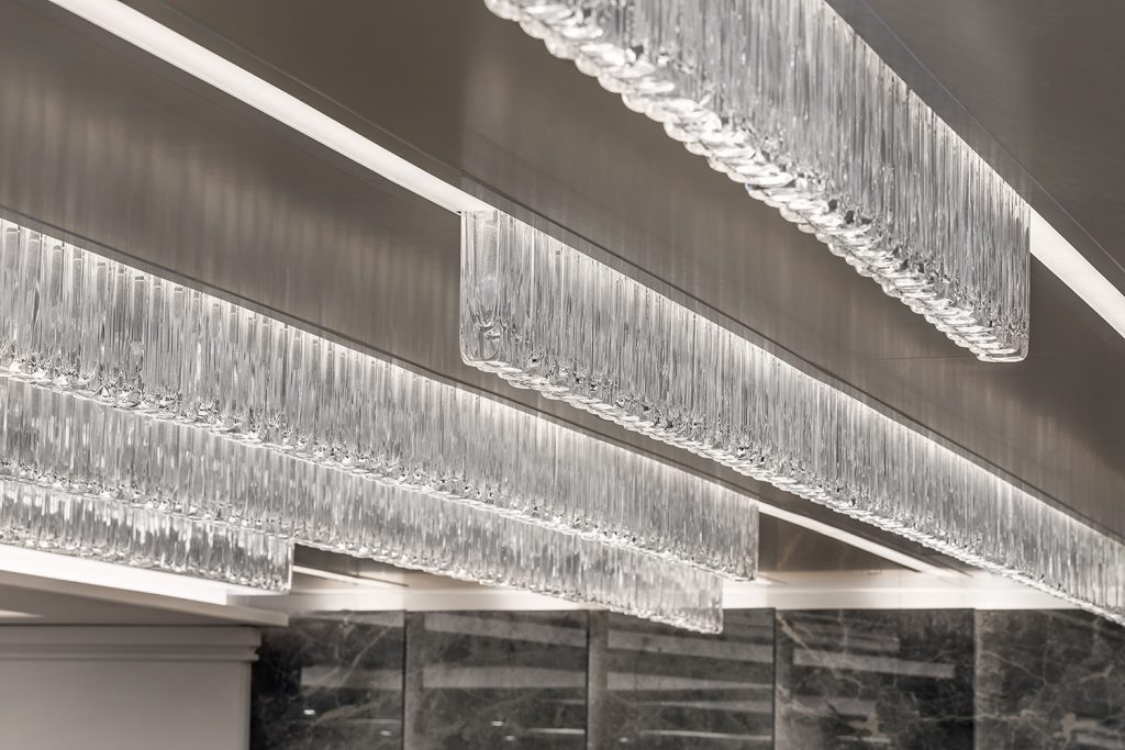 Preciosa Lighting installation photography