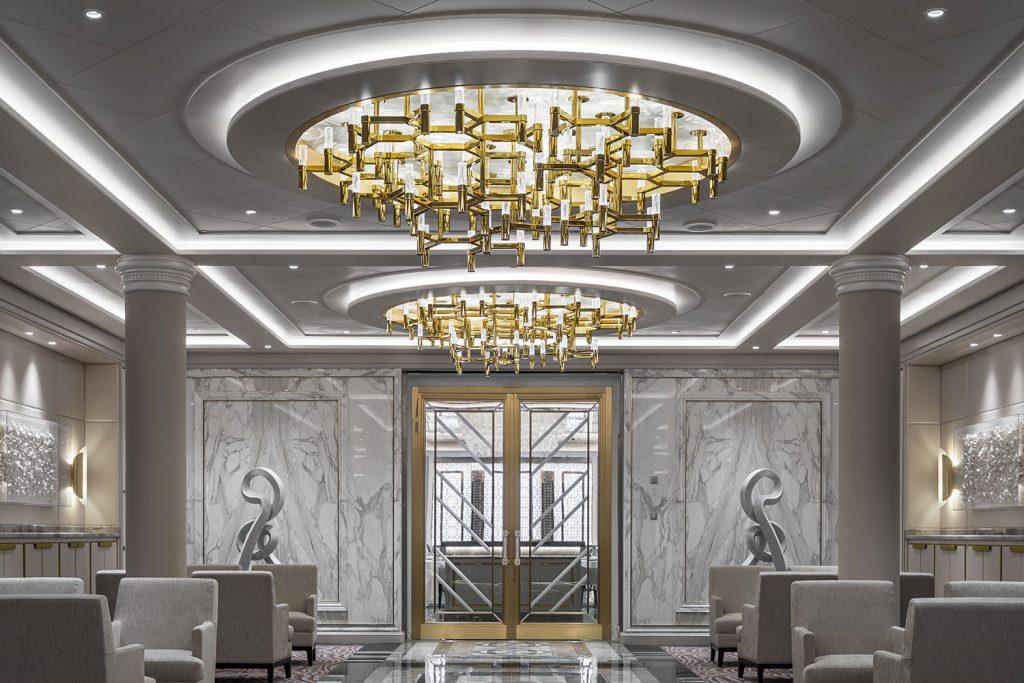 Crystal lights design by Preciosa