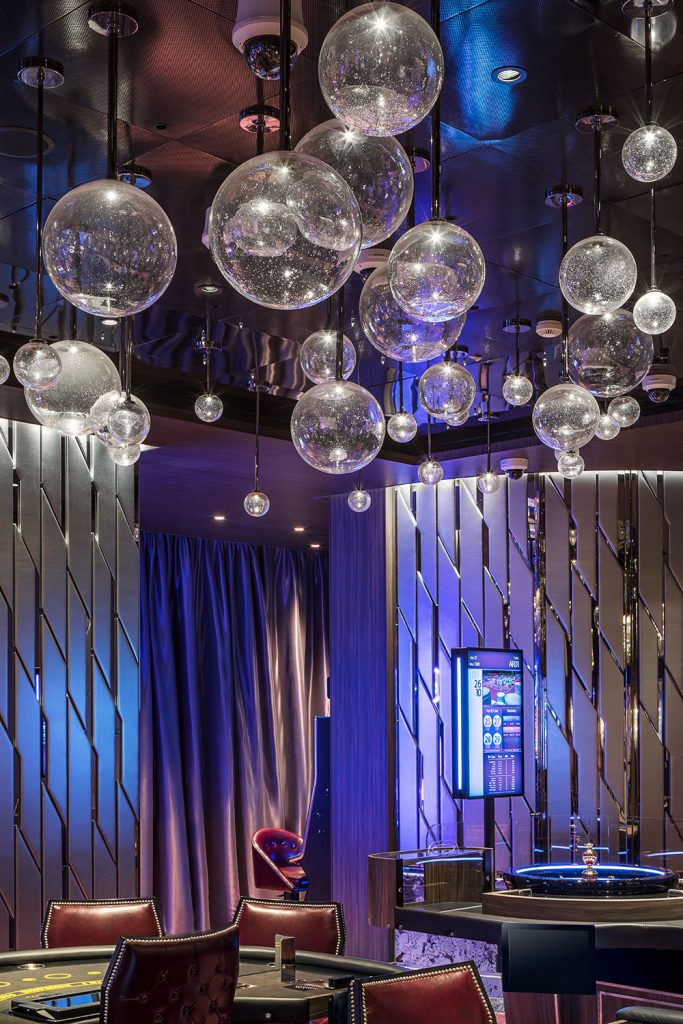 Casino interior by Roman Mlejnek Photography