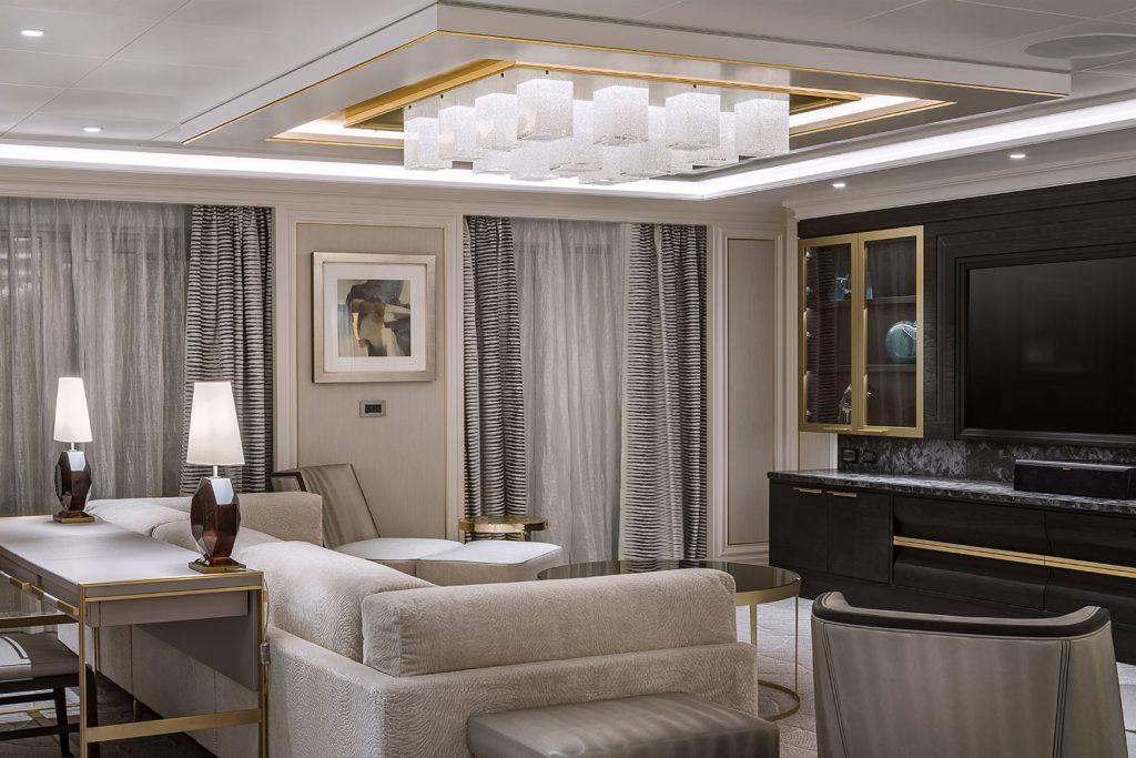 Preciosa lighting installation from Seven Seas Splendor