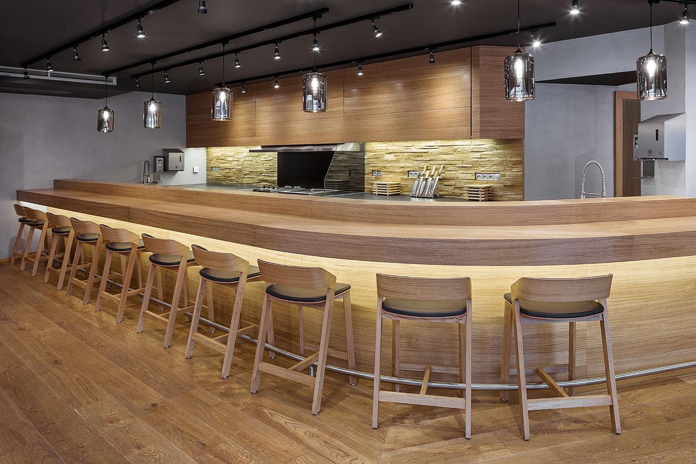 Interiery Lapka v japonske restauraci