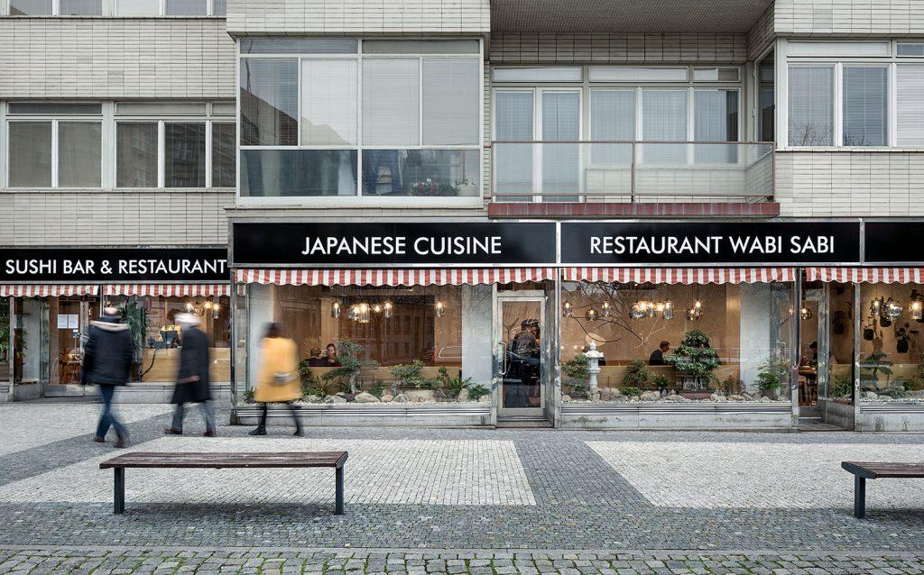 Sushi bar, Japonska restaurace, fotograf architektury Roman Mlejnek